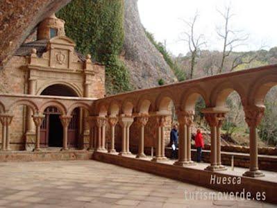 TURISMO VERDE HUESCA. Monasterio de San Juan de la Peña